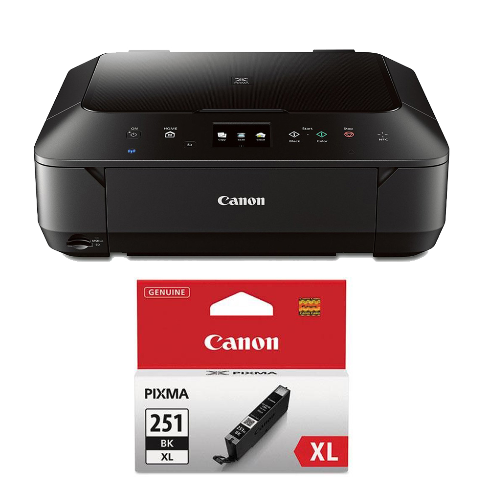 Canon Pixma Mg6620 Wireless Color Photo All In One Inkjet Black