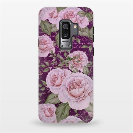 ArtsCase AC-00140155 Designers Cases Nostalgic Rose Pattern for Tough Samsung Galaxy S9 Plus