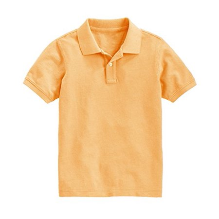 Peach Couture Boys Short Sleeve Classic Pique Polo Shirt - image 1 of 1