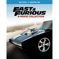 Fast & Furious: 8-Movie Collection (Blu-ray + Digital HD)