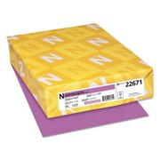 Product of Wausau Paper - Astrobrights Colored Paper, 8-1/2 x 11, Planetary Purple - 500 Sheets/Ream - All Paper & Printable Media [Bulk Savings]