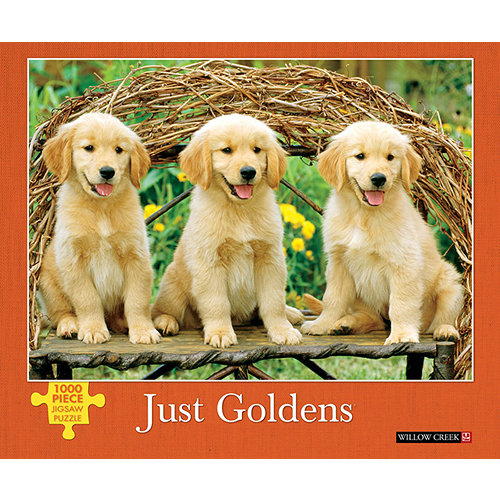 Just Goldens 1000 Piece Puzzle