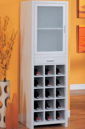 15 Section Wine Cabinet by Organize It All
