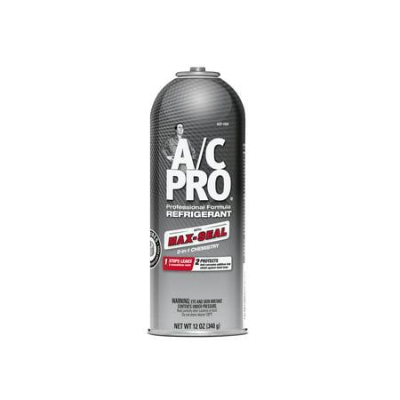 A/C Pro Professional Formula Refrigerant w/ Max-Seal 2-in-1 Chemistry (Refrigerant For Car)