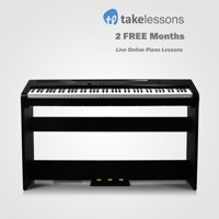 Artesia Harmony 88-Key Digital Home Piano with 2 Months of Free Live Online Piano Lessons from TakeLessons