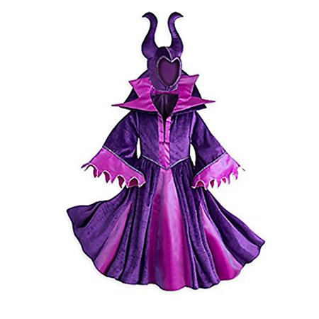 Disney Store Deluxe Maleficent Halloween Costume Descendants Sleeping Beauty (L Large 9-10) - Ottawa Halloween Costume Stores