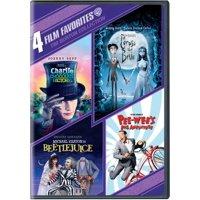 4 Film Favorites: Tim Burton Collection (DVD)
