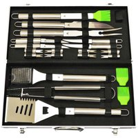 20-Piece Stainless-Steel BBQ Tool Kit,