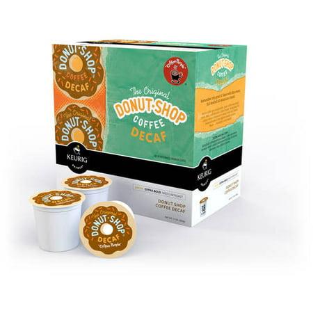 ((2 Pack) The Original Donut Shop Decaf Coffee, Keurig K-Cup Pods, Medium Roast, 18 Count)