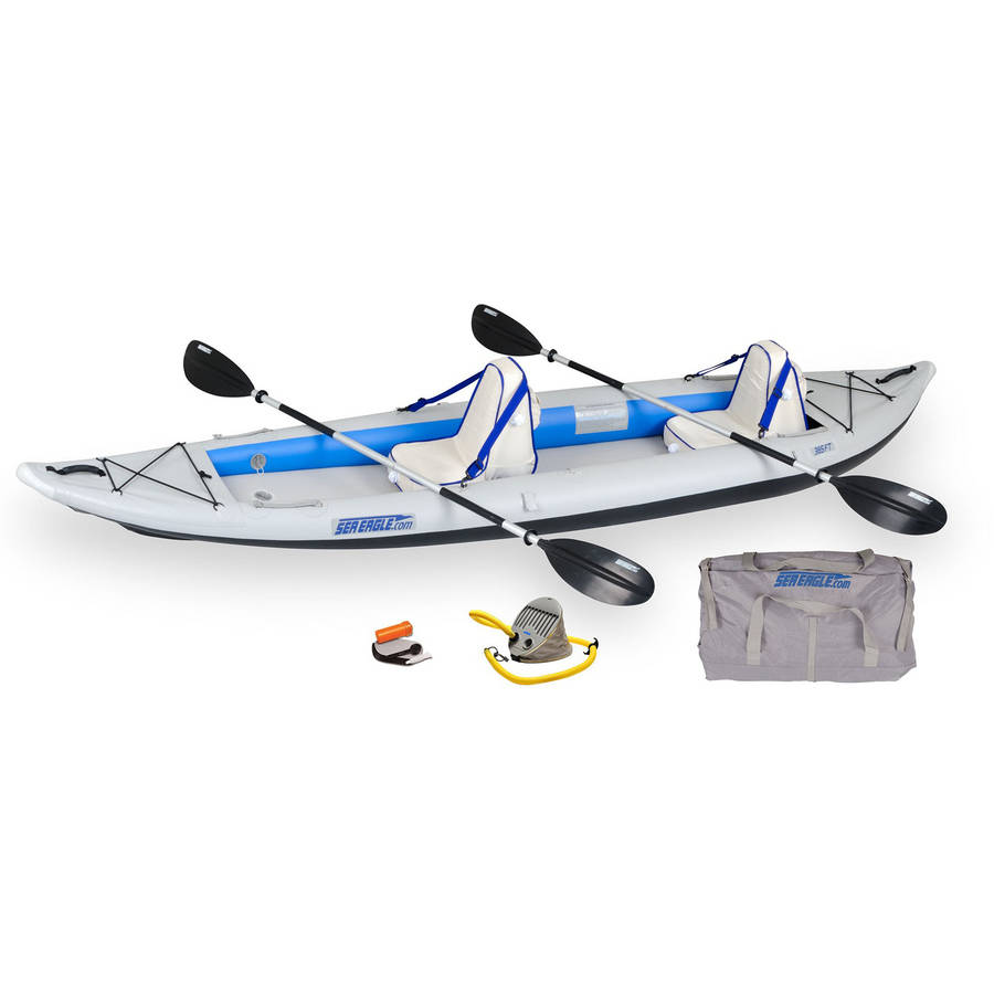 Sea Eagle FastTrack 385FTK Inflatable Kayak Deluxe by Sea Eagle