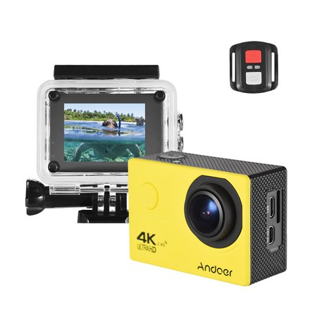 Andoer AN200 4K WiFi Action Sports Camera 16MP 1080P Full HD 4X Zoom 2