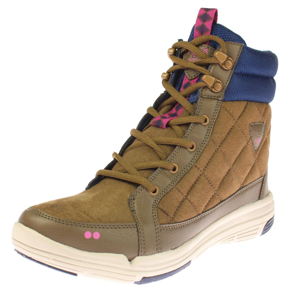 Ryka Womens Aurora Quilted Outdoor Fashion Sneakers