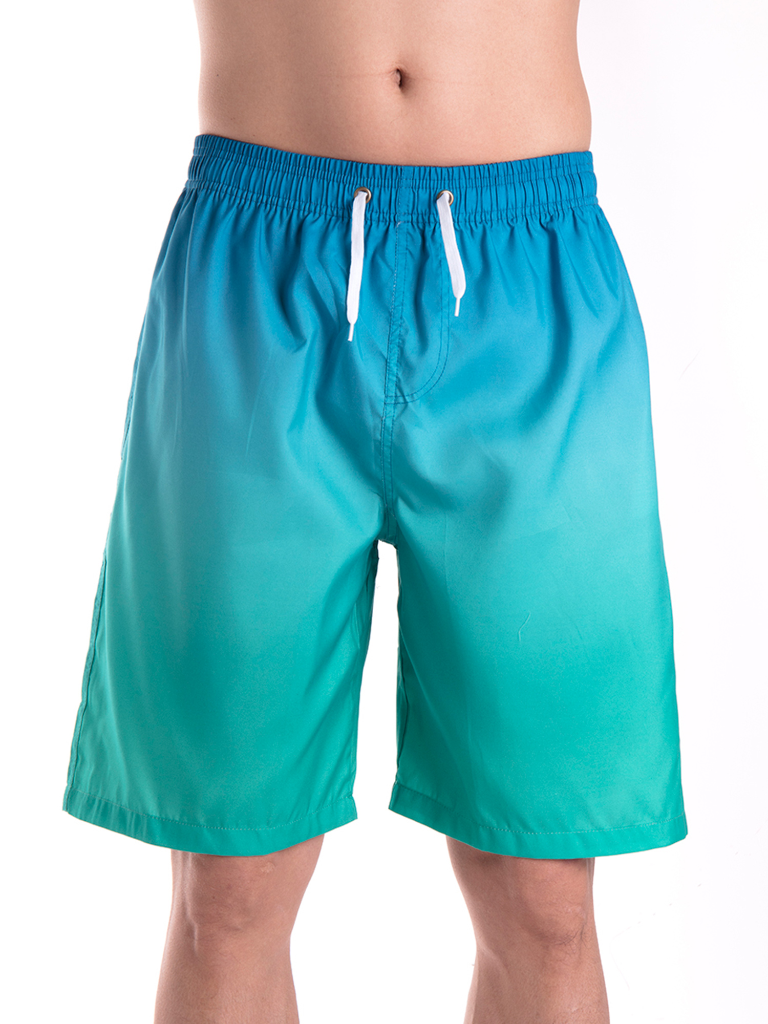Mens Striped Unicorn Summer Holiday Quick-Drying Swim Trunks Beach Shorts Board Shorts