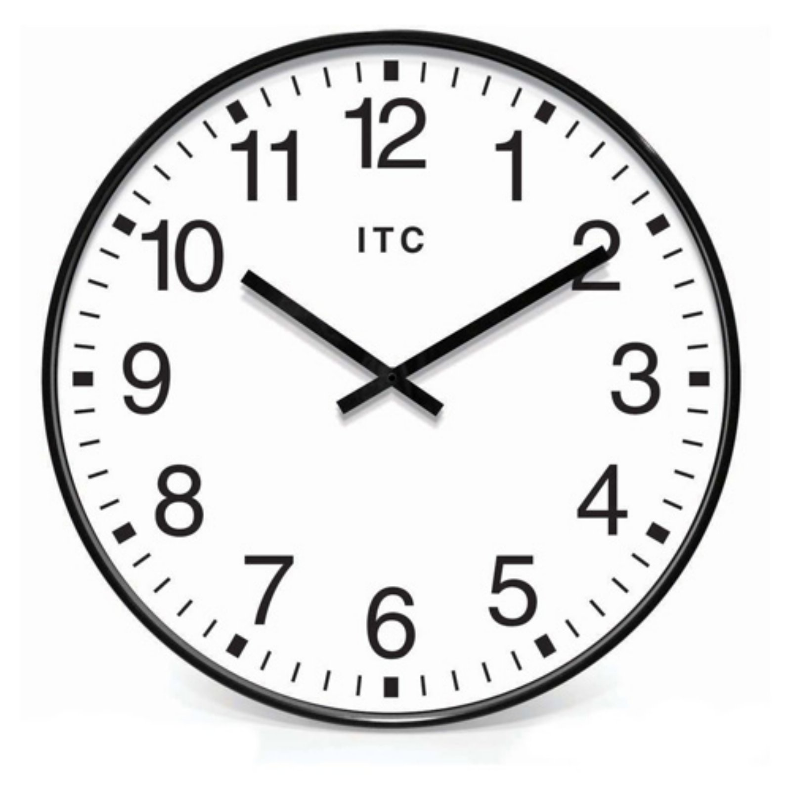 infinity instruments oversize 19inch wall clock