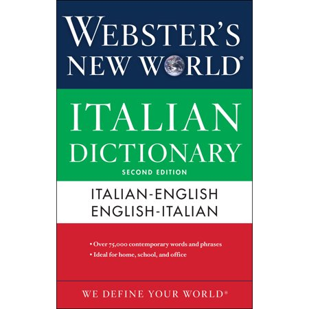 Webster's New World Italian Dictionary, 2nd
