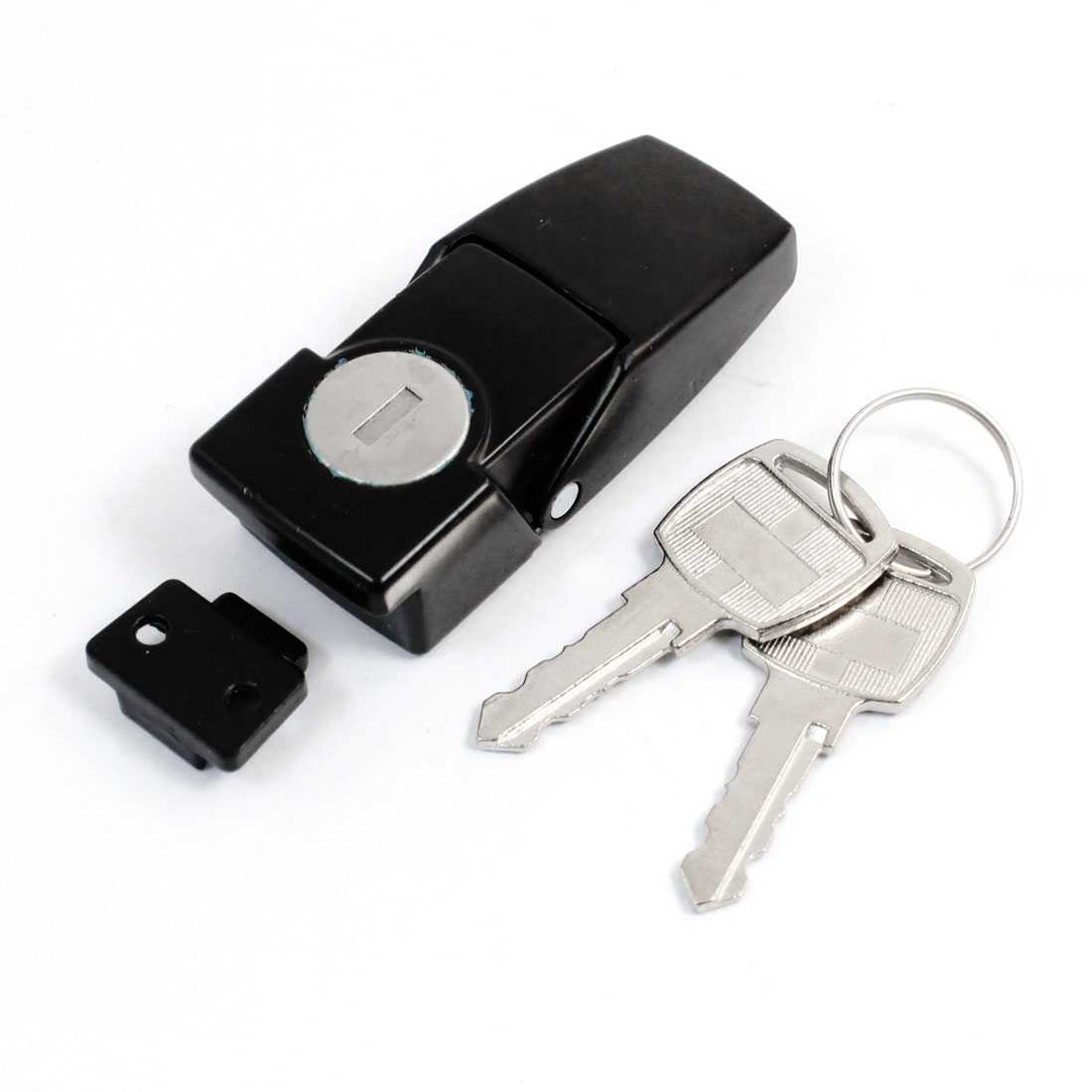 Case Drawer Black Hasp Latch Toggle Cabinet Lock and Key