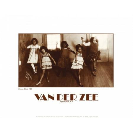 Dance Class 1928 Poster Print by James Van Der Zee (14 x 11) 11 X 14 Van