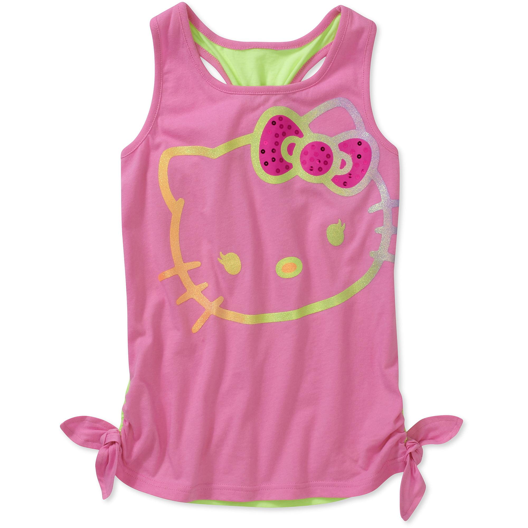 Hello Kitty Girls Side Ties Tank