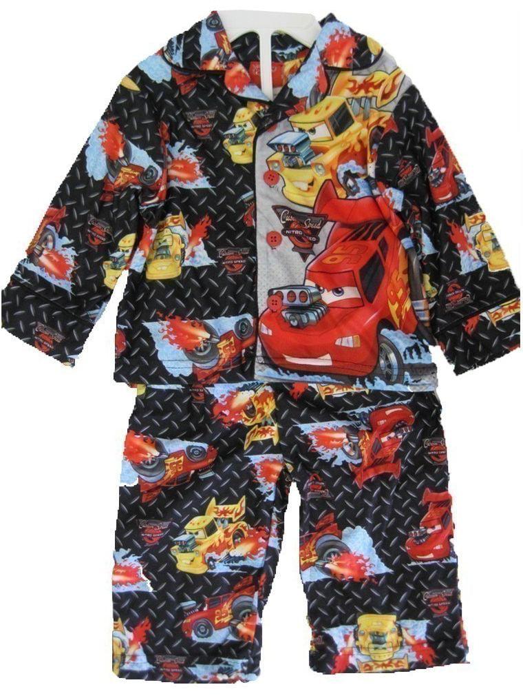 Disney Baby Boys Red Lightning McQueen Printed 2 Pc Pajama Set 12-18M