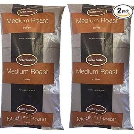 Farmer Brothers Medium Roast Ground Coffee 2 X 5lbs Ground Coffee 1271-2 5 Lb Green Coffee