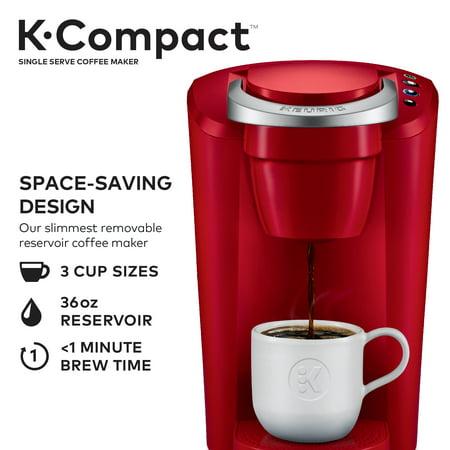 Keurig K Compact Single Serve Black K Cup Pod Coffee Maker 1 Each
