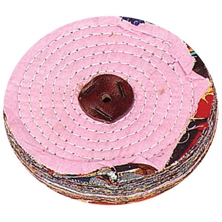Hawk Multi-colored Cloth Polishing Wheel - 6