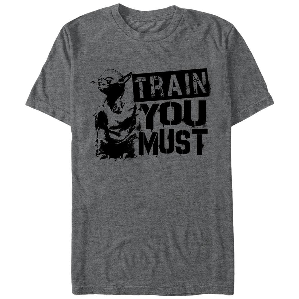 Star Wars Men's Yoda Train You Must T-Shirt