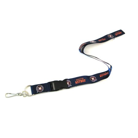 Houston Astros Breakaway Lanyard with Key Ring
