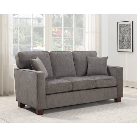 4 Seater Leather Sofas - Ave Six Russell 3 Seater Sofa