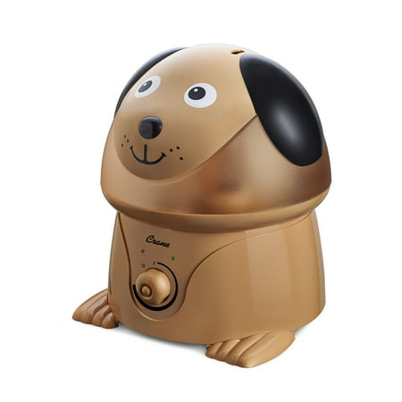 Crane - Adorable Ultrasonic Cool Mist Humidifier Dog - EE-3190, Brown