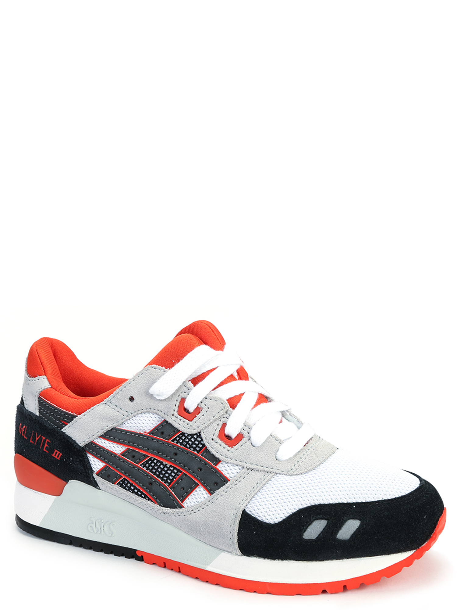 Asics Men's Gel-Lyte III Sneakers H518N-0190 White Black Infrared by