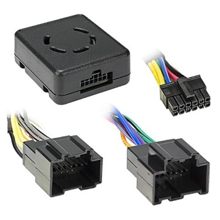 - metra axxess gm lan data bus interface with chime retention for select chevrolet impala and silverado vehicles