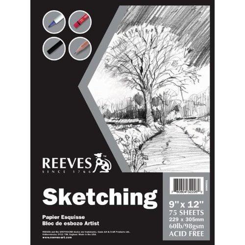 Reeves Sketching Pad (Set of 4)