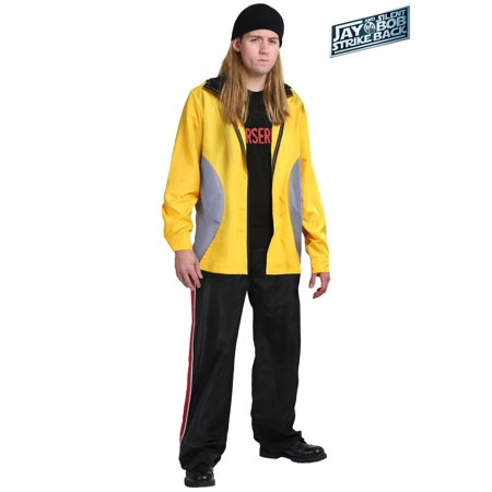 Jay and Silent Bob Adult Jay Costume - Kevin Up Halloween Costume