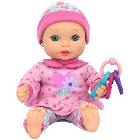 Little Darlings - Fun with Keys 11 Inch Baby Doll