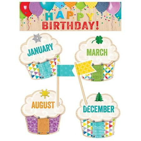 Creative Teaching Press CTP0599 Happy Birthday Mini Bulletin Board Set