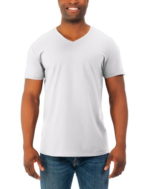 bed53c55 Product Image Fruit of the Loom Big mens' soft short sleeve lightweight v  neck t shirt,