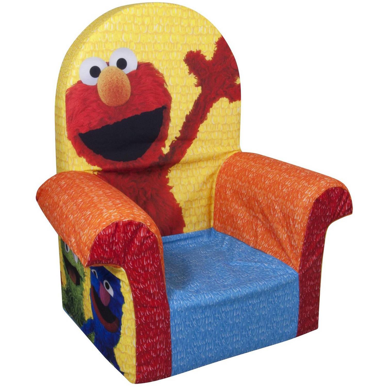 Marshmallow High Back Chair, Sesame Street's Elmo