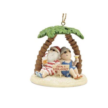 Santa and Mrs. Claus Island Secret Hideaway Palm - Mrs Santa Claus