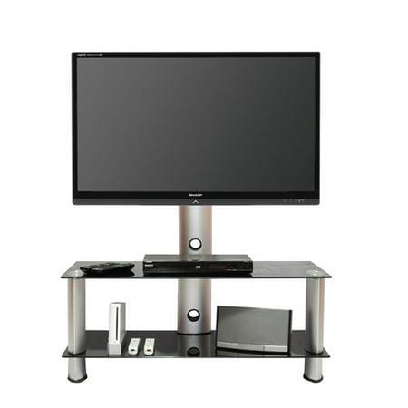 Tier One Designs Below Fixed Floor Stand Mount for 60'' Screens