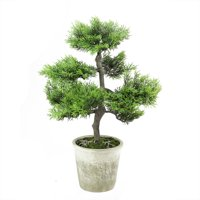 Northlight 1.6' Unlit Artificial Japanese Bonsai Tree in Weathered Pot