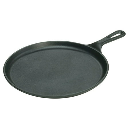 "Lodge Seasoned Cast Iron 10.5"" Round Griddle"