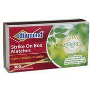 Diamond Matches, Large Strike On Box Matches, 300 Ct