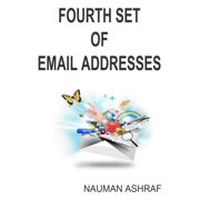 Fourth set of email addresses - eBook