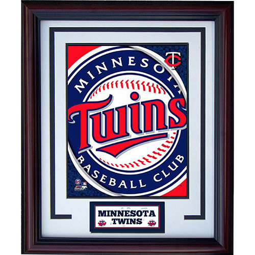 MLB Minnesota Twins Deluxe Frame, 11x14