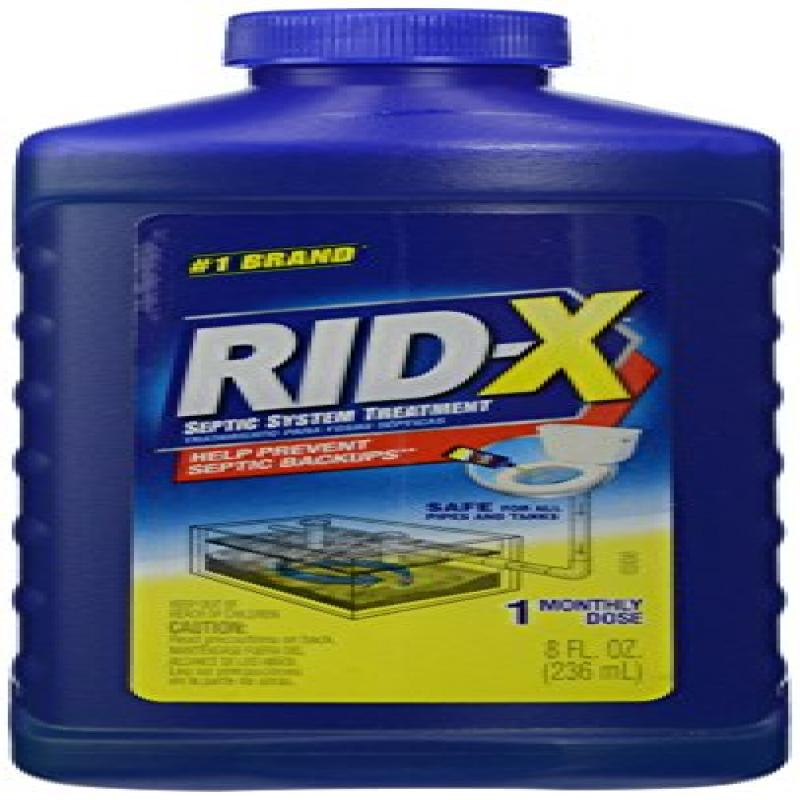 RID-X Septic Tank System Treatment, 8 Ounce