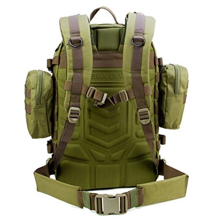 cb6153054bf6 Paratus 3 Day Operator s Pack - Military Style MOLLE Compatible Tactical  Backpack (Olive Drab Green) - Walmart.com