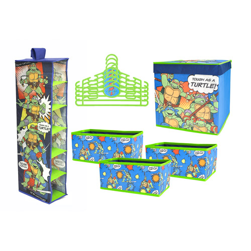 Nickelodeon Teenage Mutant Ninja Turtle 10 PC Storage Solution Set