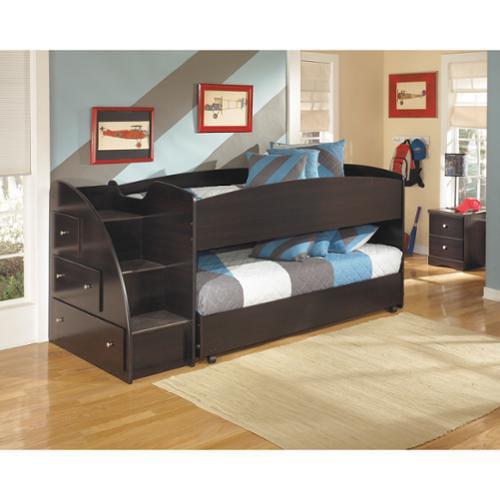 Signature Design by Ashley Embrace Loft Bed Set with Loft...