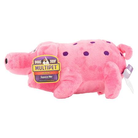 Medium Red Rubber Sumo Dog Toy